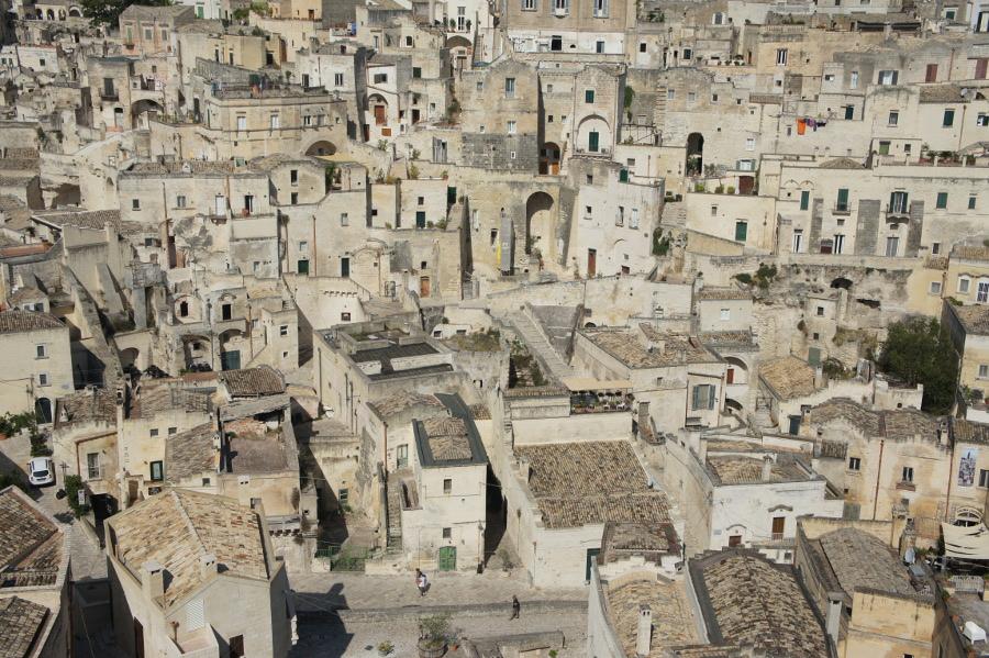 Panorama del Sasso Barisano di Matera