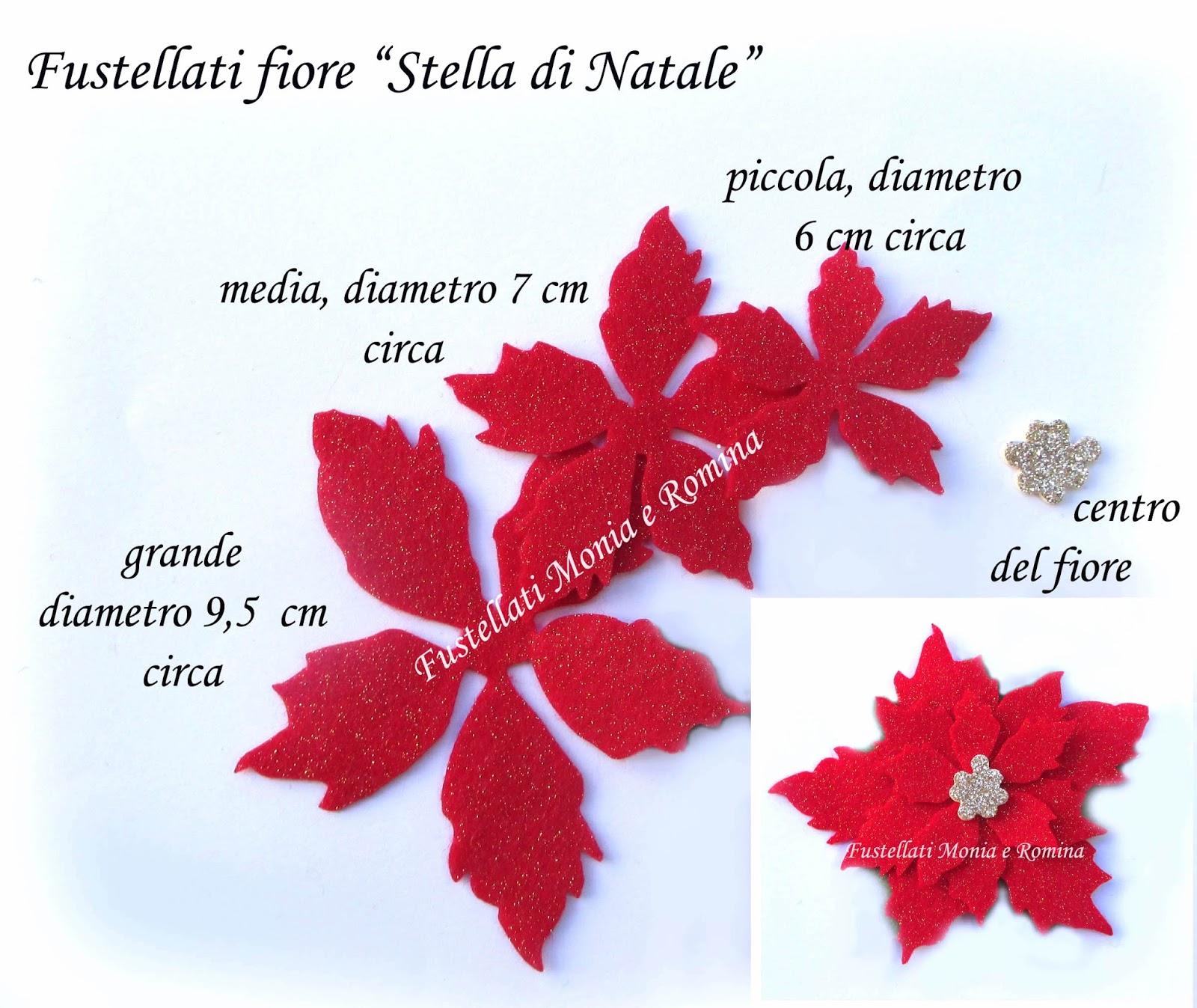 Famoso Fustellati on line: FIORE STELLA NATALIZIA oppure foglie di rose  YA72