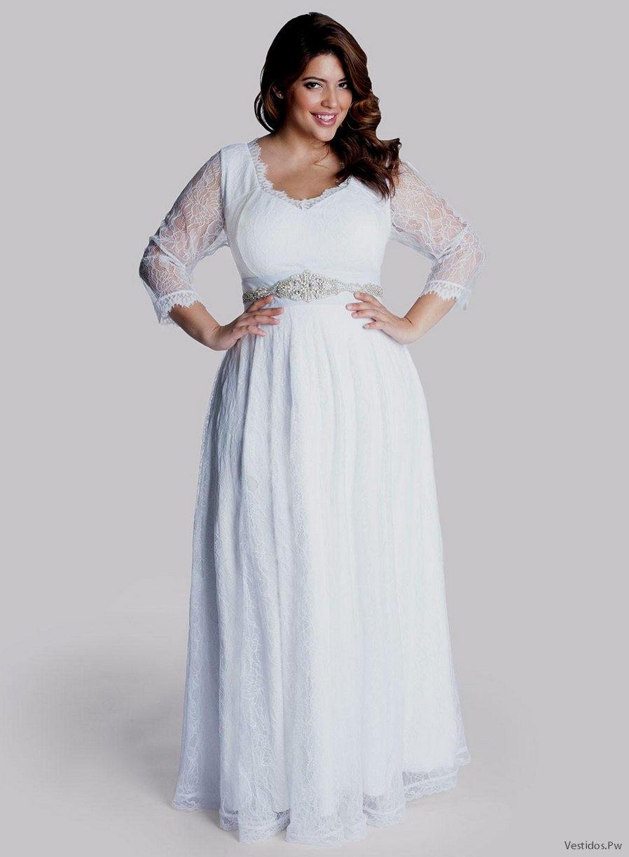Vestidos sencillos para boda civil para gorditas