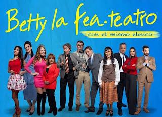 BETTY LA FEA en teatro 2019