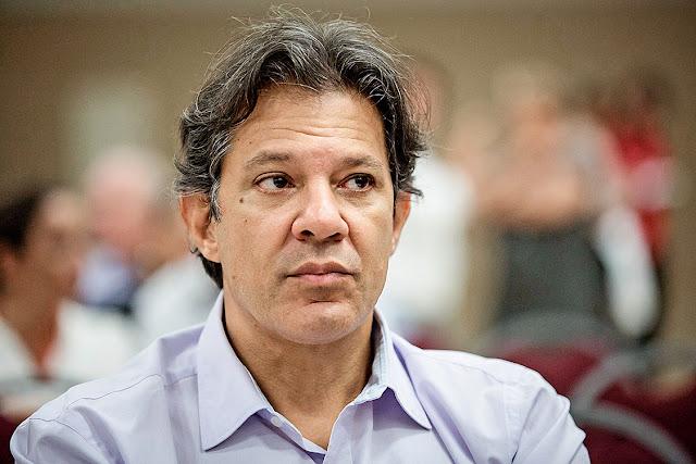Fernando Haddad é denunciado pela segunda vez em oito dias