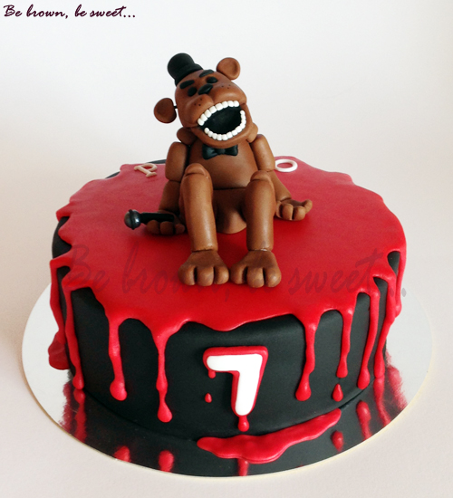 Five Nights Of Freddy Images For A Cake
