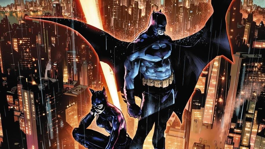 Batman and Catwoman, Watching, 4K, #6.2039