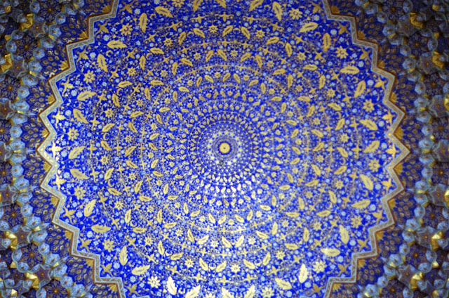 Ouzbékistan, Samarcande, Registan, médersa Ulugh Beg, © Louis Gigout, 1999