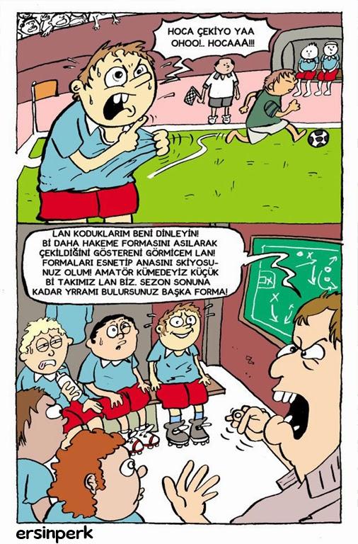 Ersin Perk Karikatürleri Futbol Karikatürü
