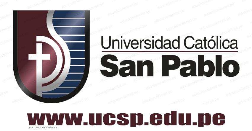 Resultados UCSP 2018 (28 Octubre) Lista Ingresantes Examen Admisión Descentralizado - Universidad Católica San Pablo - Arequipa - www.ucsp.edu.pe