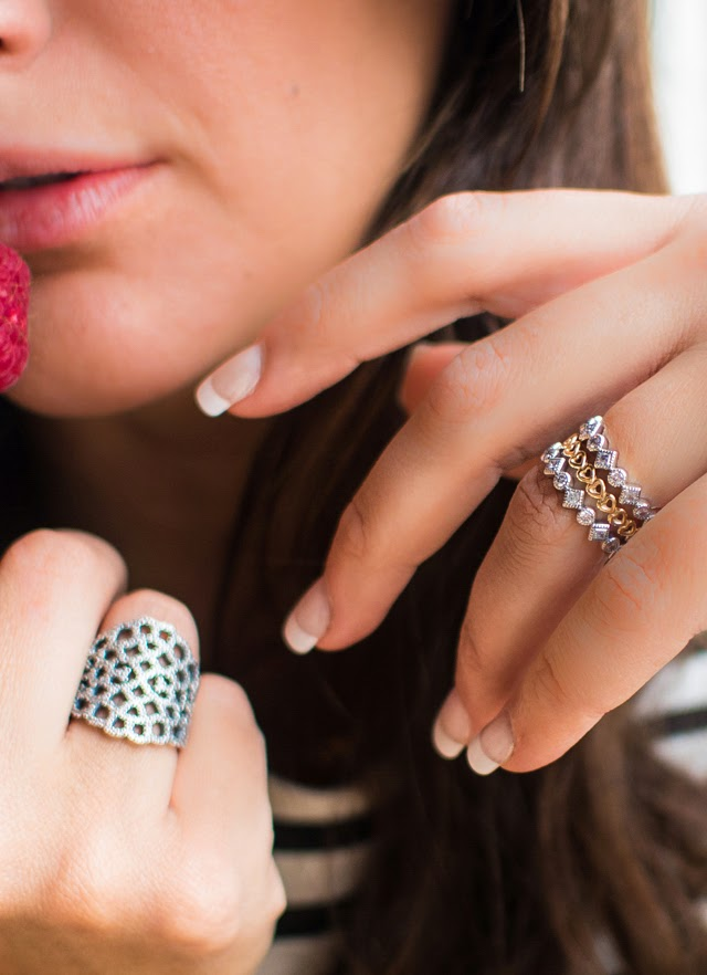 Pandora Silver Rings
