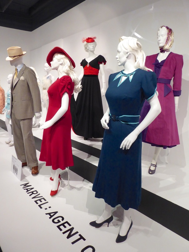 marvel agent carter costume exhibit