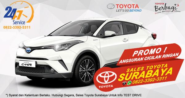 Promo Angsuran Cicilan Ringan Toyota C-HR Surabaya