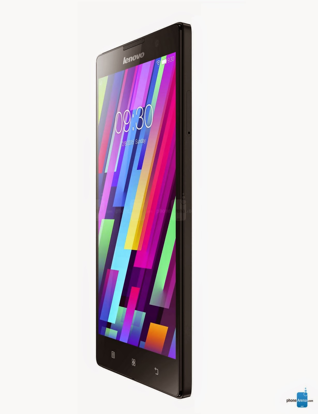 Side View: Lenovo P90