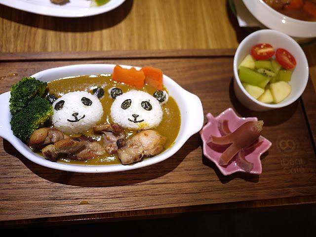 P1280033 - 熱血菜訪│台中福科路美食-艾蒂兒時尚廚房療癒系的熊貓咖哩飯(已歇業)