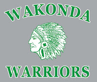 indian mascot wakonda warriors