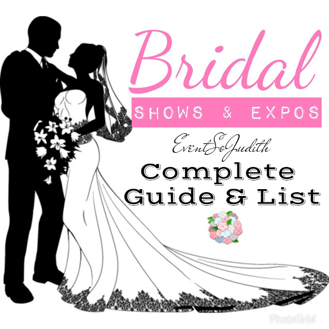 2018 Bridal Expos, Bridal Shows, Wedding Blog