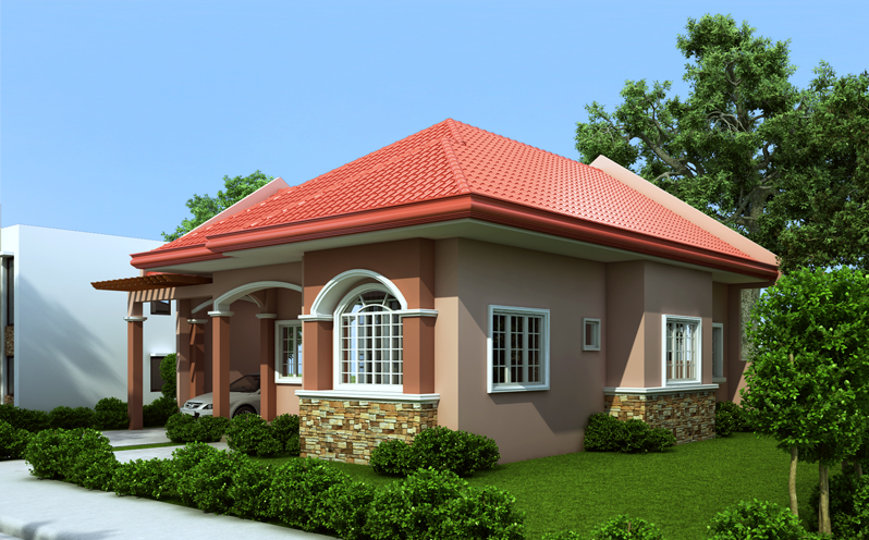 12 House With Red Colored Theme Roofing Trending House