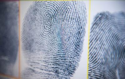 Close up photo of fingerprint scan