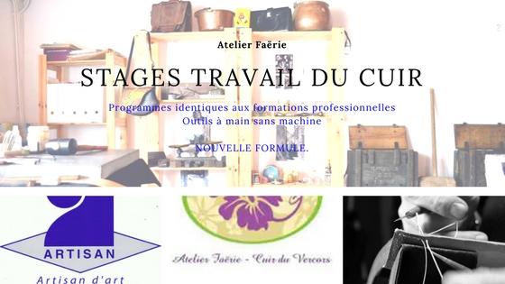 Lisette - Atelier Faërie - Cuir du Vercors  Stages d initiation ou ... aee8cf13f5b