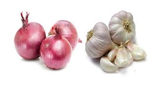 Obat sakit gigi untuk Ibu Hamil, 1. Bawang merah dan bawang putih