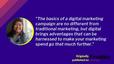 Digital Marketing 101 in Myanmar by Yu Yu Din