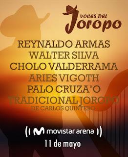 POS Festival VOCES DEL JOROPO 2019 en Bogotá