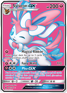 Sylveon GX Guardians Rising Pokemon Card