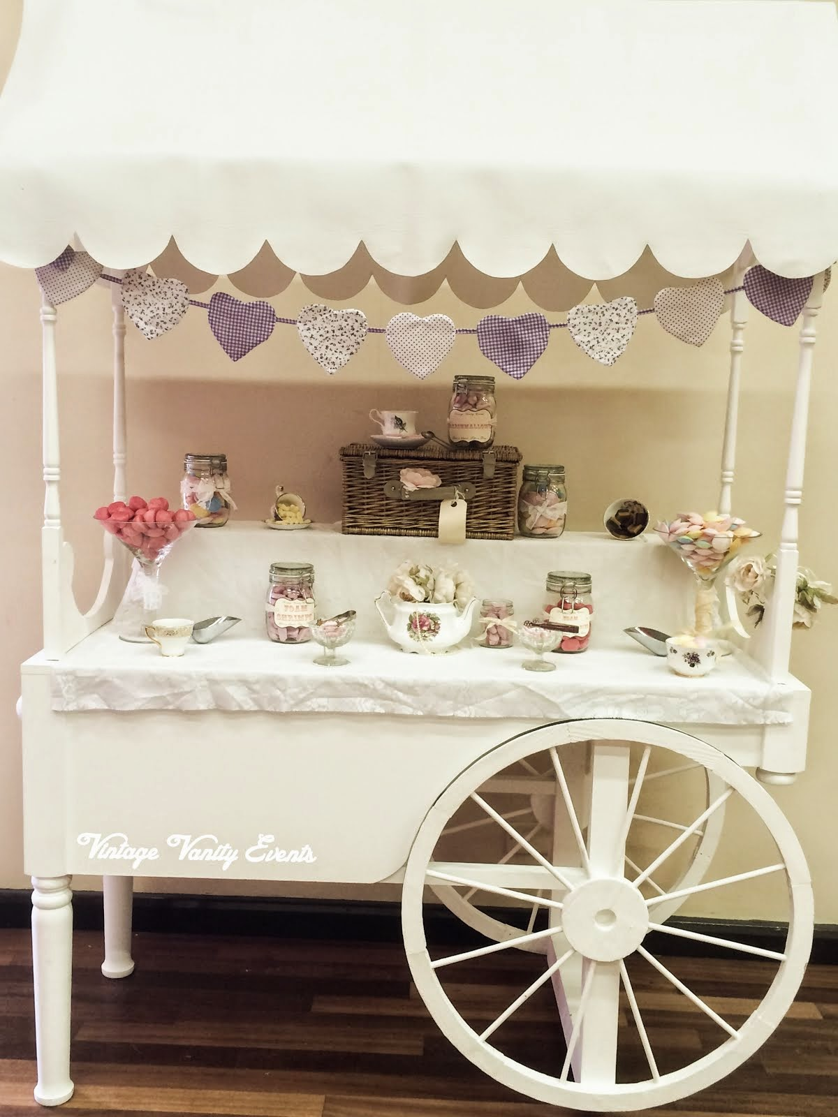 Vintage Candy Cart Hire