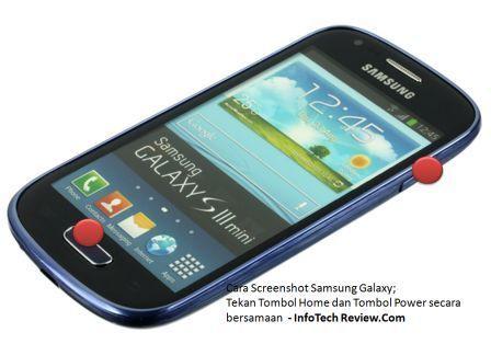 Samsung Galaxy: Cara Screenshot Android