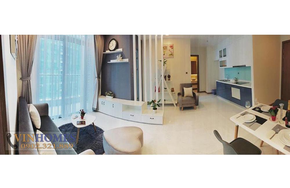 Bán căn hộ Vinhomes Landmark 2 - tổng thể phòng khách