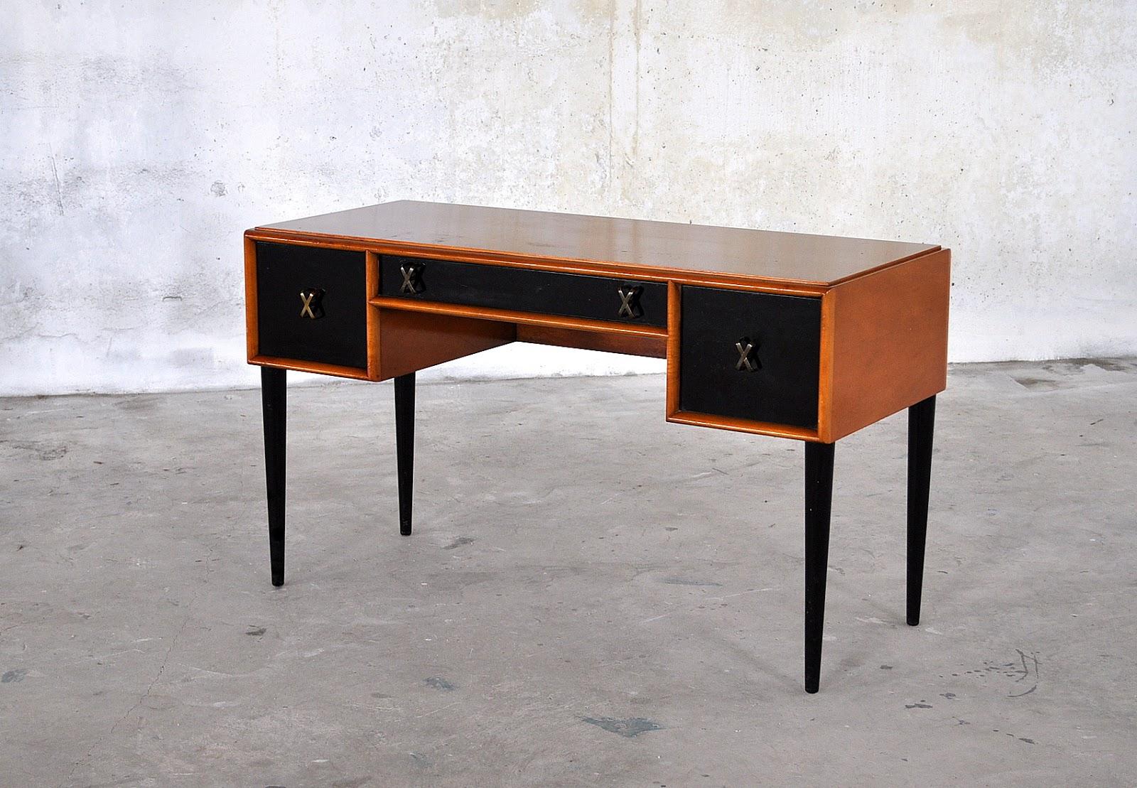 Select Modern Mid Century Modern Paul Frankl Desk Vanity
