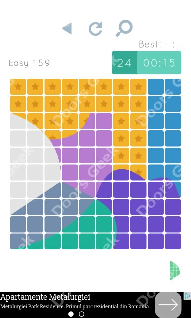 Cheats, Walkthrough for Blocks and Shapes Level 159