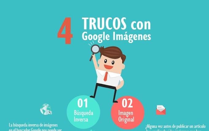 Aprovecha el buscador de Google Imágenes con estos 4 Trucos