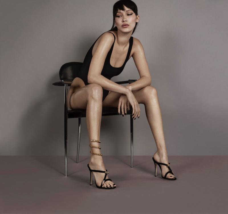 Bella Hadid for Giuseppe Zanotti Spring/Summer 2018 Campaign
