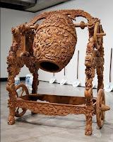 increible tallado en madera