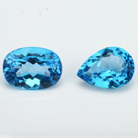 Natural Aquamarine Blue Gemstones