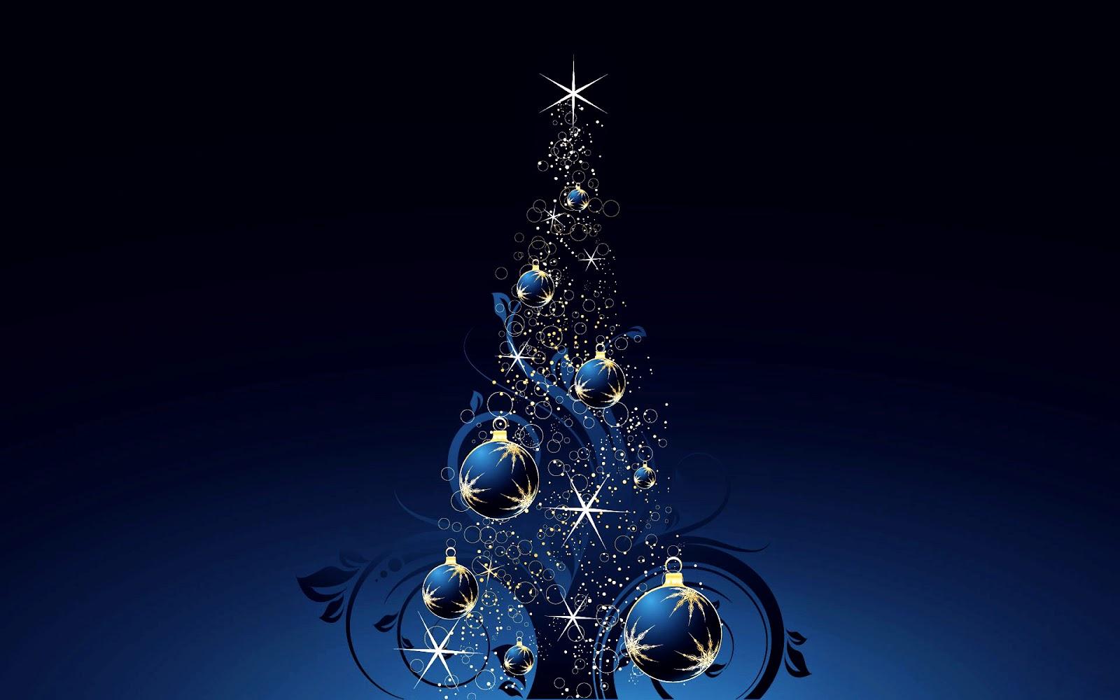 Christmas Tree Abstract Vector Design