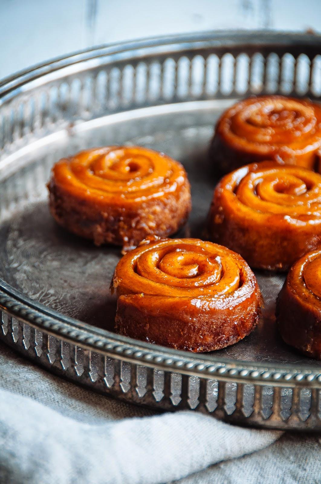 Fresh Homemade Cinnamon Sticky Buns Royalty Free Stock ...  Cinnamon Sticky Buns