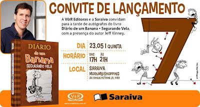 News: Jeff Kinney, autor de Diario de um banana no Brasil 9