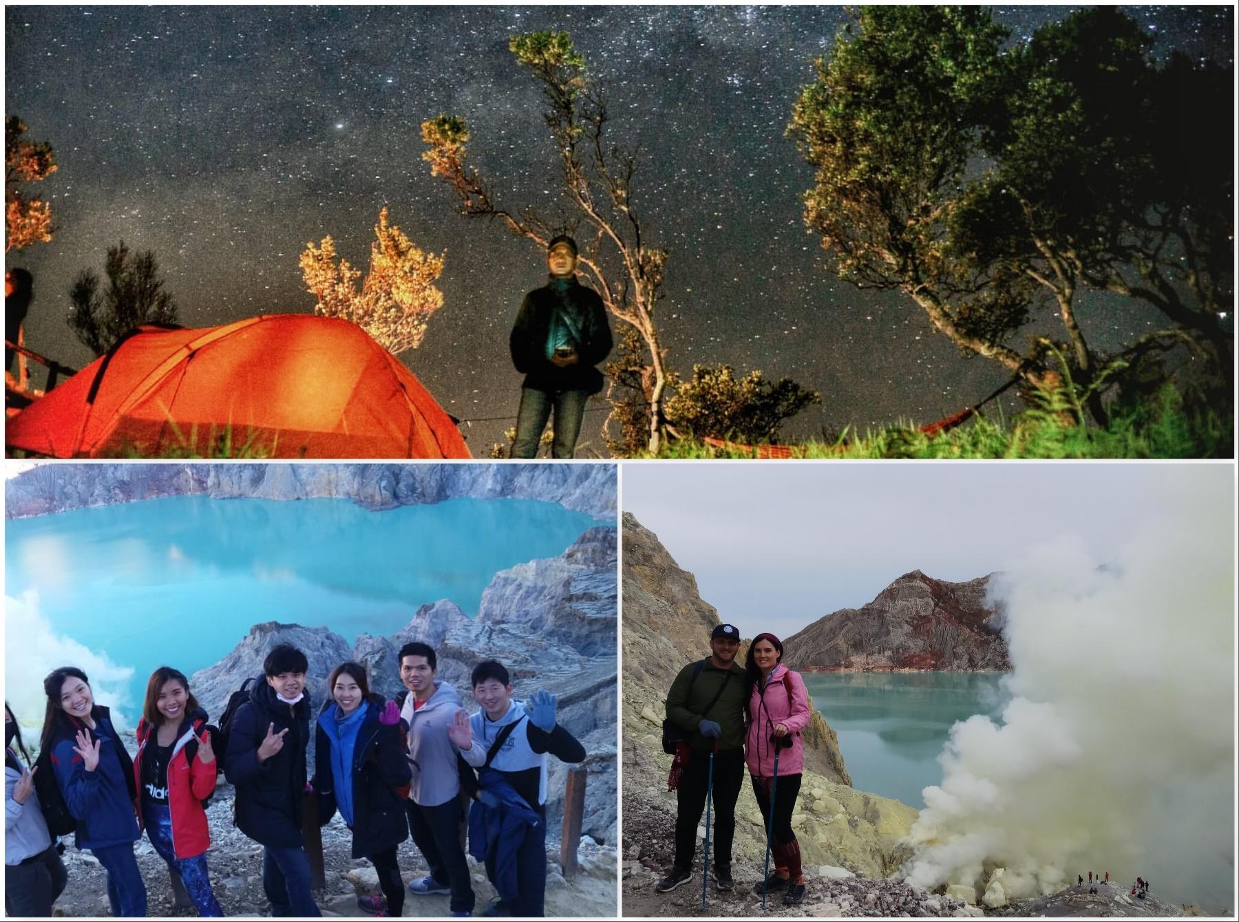 Mount Bromo Milky Way, Ijen Crater tour 3 days 2 nights