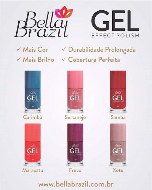 Esmalte em Gel Bella Brazil