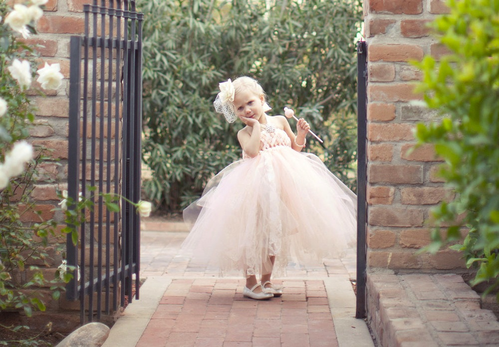 They Are Angels On Your Wedding--Flower Girls