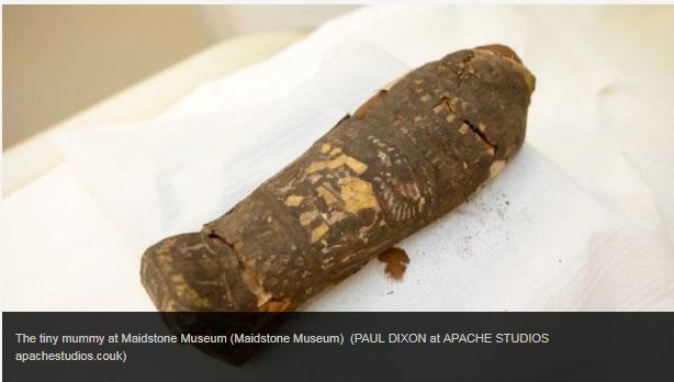 Mystery Of The Tiny Egyptian Mummy