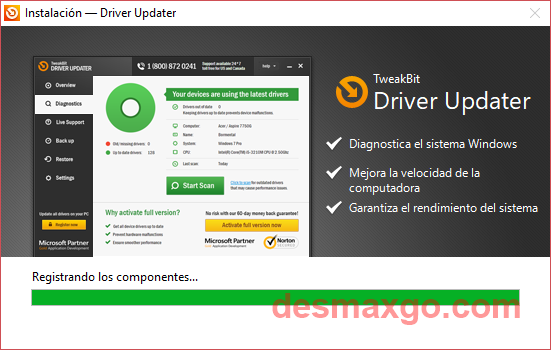 TweakBit Driver Updater 2 Full Gratis captura 2