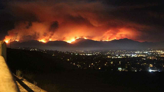 Emergency declaration for Los Angeles County as 10,000 homes evacuated 1440626_1280x720