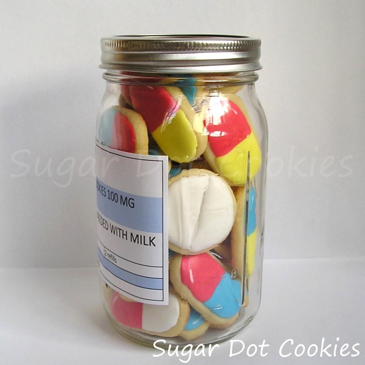 Sugar Dot Cookies Get Well Soon