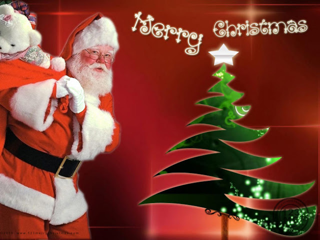Santa clause Merry Christmas HD Photo