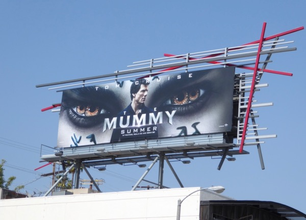 Tom Cruise The Mummy billboard