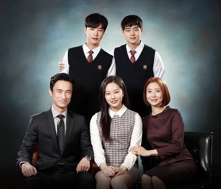 keluarga elit dan ambisius cha min hyuk