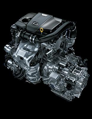 Linh hồn của NX200t là động cơ tăng áp 2.0L