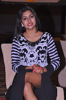 Akshatha in a lovely Leg Split Black Gown Cross legged Latest Stills 01.JPG