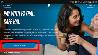 Create-Paypal-Account-Free-Step-1