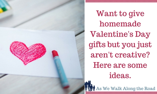 Homemade Valentine's Day gift ideas
